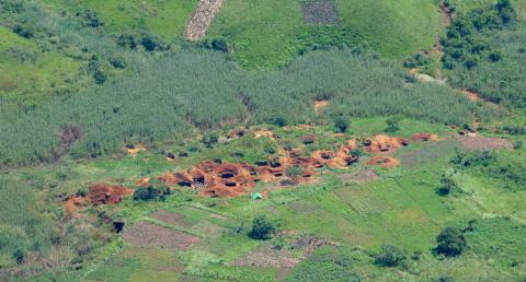 Mine illégale en Ituri, RDC