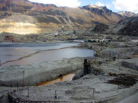 Résidus de la mine de cuivre, plomb, zinc et métaux précieux de La Oroya, Pérou