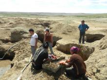 Orpaillage en Mongolie